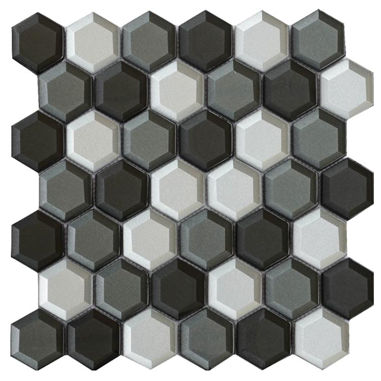 mosaic effect wall tiles