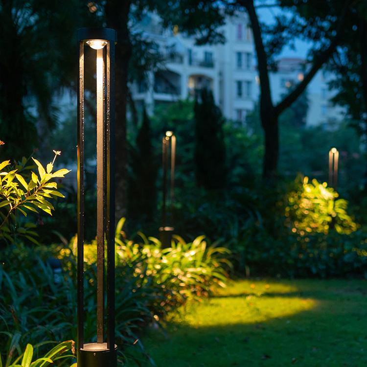 Sand Ash Victor New Design Post Light For Pathway Outdoor Garden Pillar Light View Outdoor Garden Pillar Light Hanse Product Details From Foshan Hanse Industrial Co Ltd On Alibaba Com