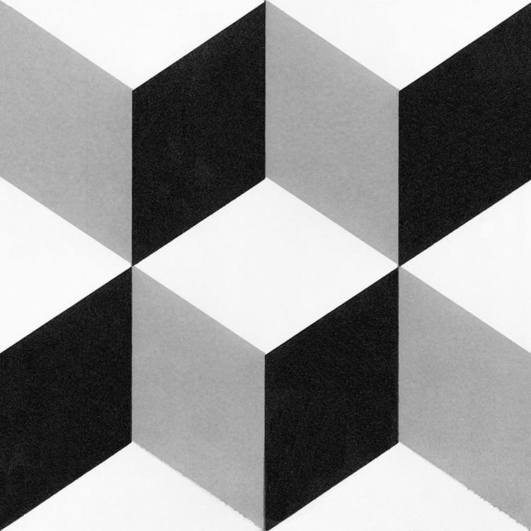black white ceramic tile