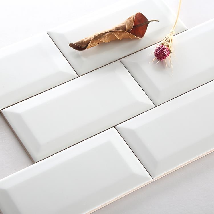 glazed ceramic subway tiles