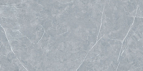 Light Grey Glazed Artificial Stone Tile Customized Size HKP715110