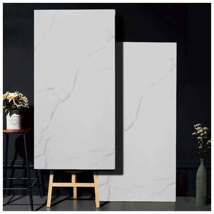 White Polished Ceramic Wall Tile 600 x 1200mm HFQ126001
