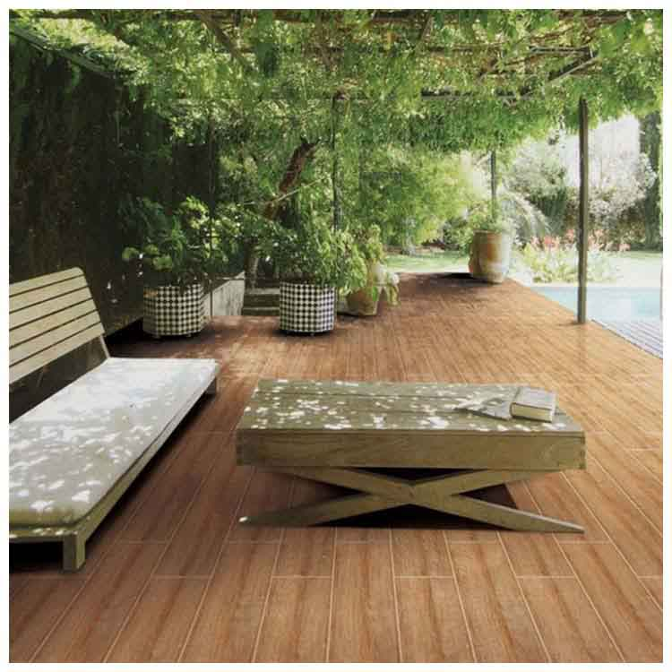 Outdoor Wood Look Tiles