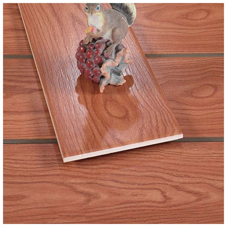 Brown Glazed Ceramic Wood Tile