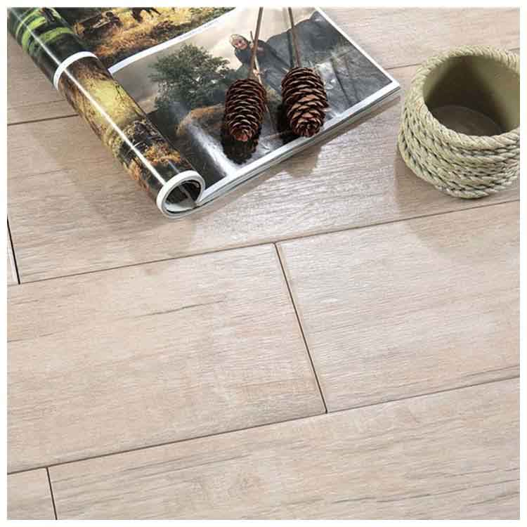 Beige Glazed Ceramic Wood Tile 150 x 900mm HMF915013