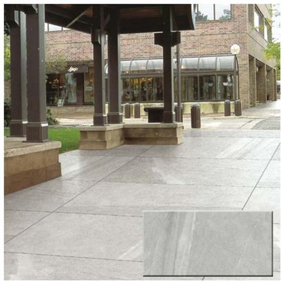 Light Grey Polished Ceramic Floor Tile 900 x 1800mm 28G189F19M80