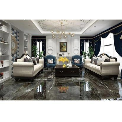 Black Polished Porcelain Floor Tile 1000 x 2000mm 2BG2010Q23