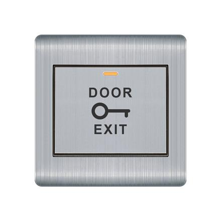 Eco-Friendly stainless steel 86x86 door exit gated switch  Q1 Gated Switch