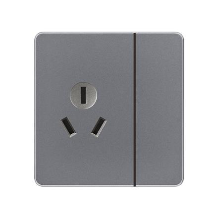 1 gang 1 way switch and 16amp 3 pin plug socket 16a  AB 1gang 1way switch and 16A 3 pole socket