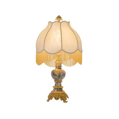 Hanse Amber Marble Table Lamp  HS-8215L-3