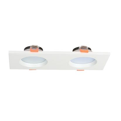 15w twin led downligts matte white  HS-C2001-2