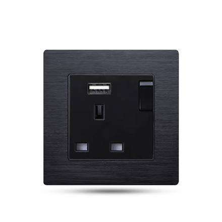 13a switch outlet wall eu socket with usb  F71-043