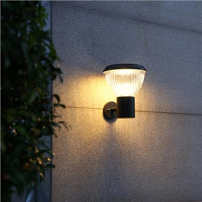 Chinese style exquisite garden wall solar light pack  HS-ZC-BD4005-4