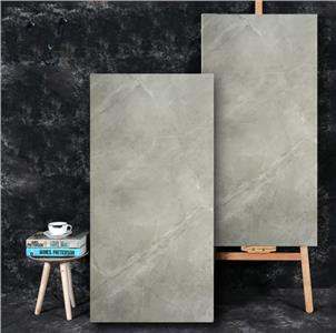 Grey Glazed Ceramic Tile Customized Size HB12019A