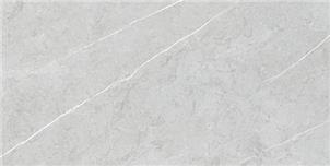 Grey Glazed Artificial Stone Tile Customized Size HKP715004