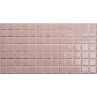 Pink Polished Glass Mosaic Wall Tile 300 x 300mm A83