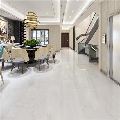 White Polished Ceramic Wall Tile 600 x 1200mm HB12001