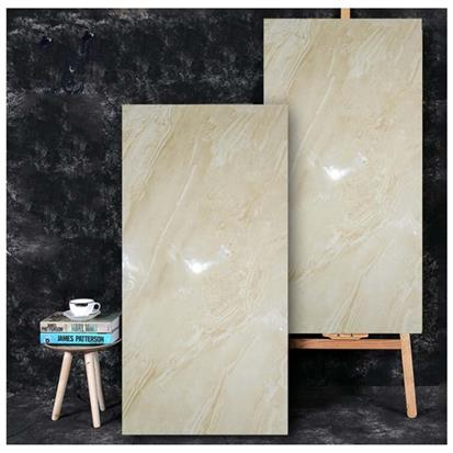 Beige Polished Ceramic Floor Tile 600 x 1200mm HB12027B