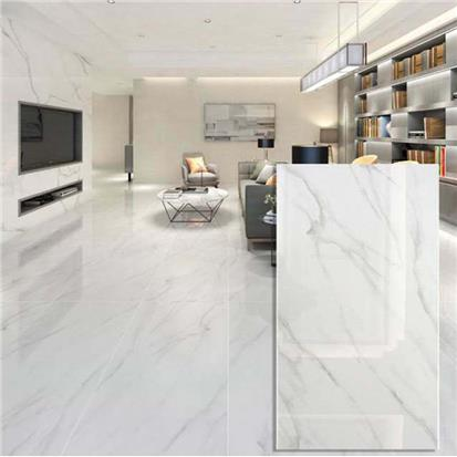 White Polished Ceramic Wall Tile 600 x 1200mm HB6001200