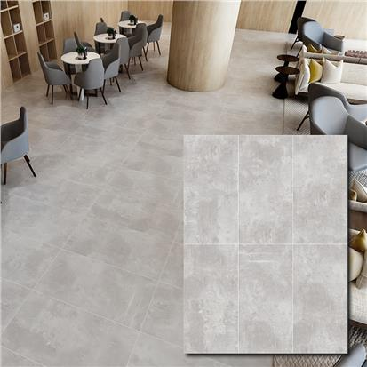 Dark Grey Glazed Porcelain Floor Tile 600 x 1200mm HB612F002