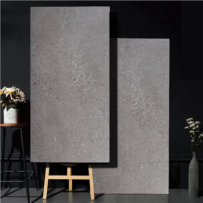 Grey Glazed Ceramic Floor Tile 600 x 1200mm HB612F007