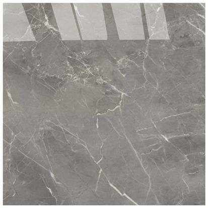 Grey Polished Porcelain Floor Tile 600 x 600mm HB6540