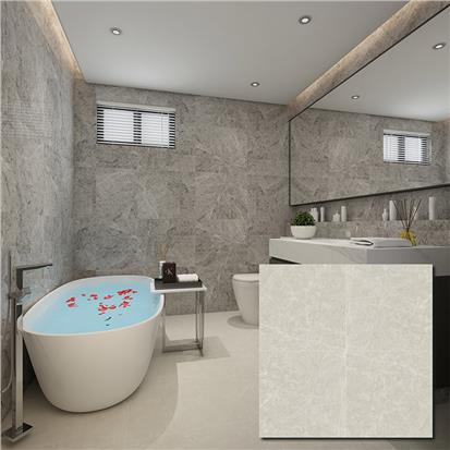 Grey Glazed Porcelain Floor Tile 600 x 600mm HBF008
