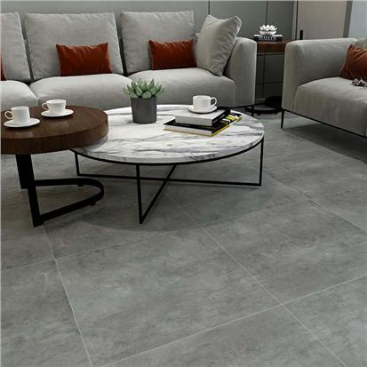 Grey Glazed Porcelain Floor Tile 600 x 600mm HBF011