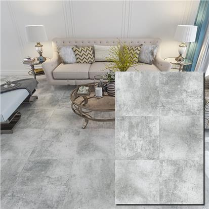 Grey Glazed Ceramic Floor Tile 600 x 600mm HBF017