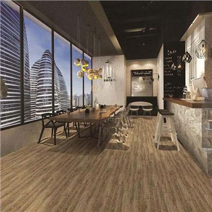 Brown Glazed Porcelain Wood Tile 150 x 900mm HC9035