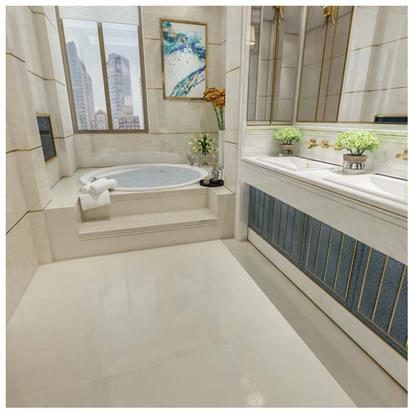 Beige Polished Ceramic Floor Tile 600 x 600mm HD6103P