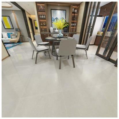 White Polished Porcelain Floor Tile 600 x 600mm HD6201P
