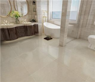 Beige Polished Ceramic Floor Tile 600 x 600mm HD6202P