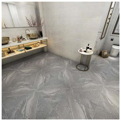 Grey Glazed Porcelain Floor Tile 600 x 600mm HF6803