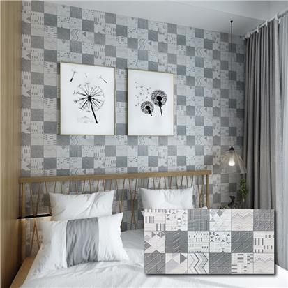 Grey Glazed Ceramic Tile 300 x 600mm HJL361210H