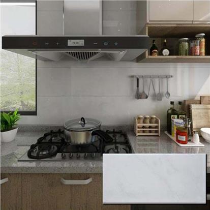 White Polished Ceramic Wall Tile 300 x 600mm HM3844LA