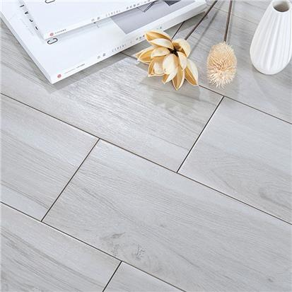 Grey Glazed Ceramic Wall Tile 150 x 600mm HMF615857