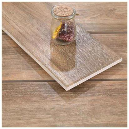 Brown Glazed Ceramic Wood Tile 150 x 900mm HMF915005