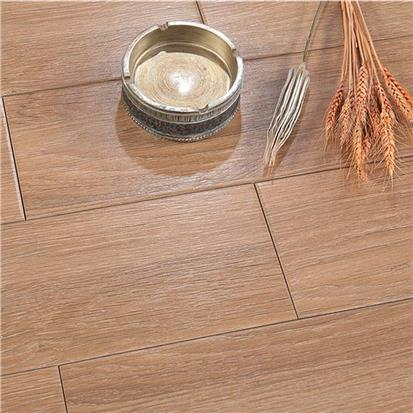 Brown Glazed Ceramic Wood Tile 150 x 900mm HMF915602