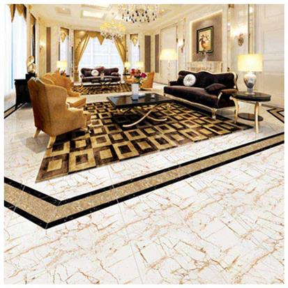 Gold Polished Ceramic Floor Tile 600 x 600mm HS637GN