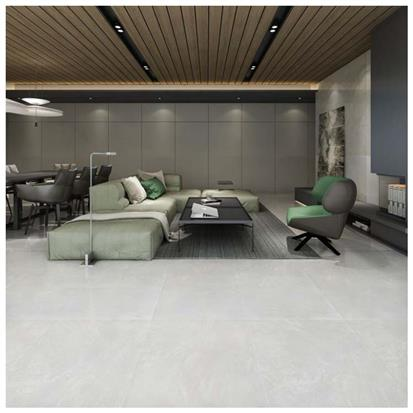 White Polished Porcelain Floor Tile 600 x 600mm HSB6251
