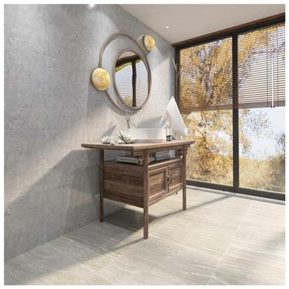 Grey Polished Porcelain Wall Tile 300 x 600mm HYH36002