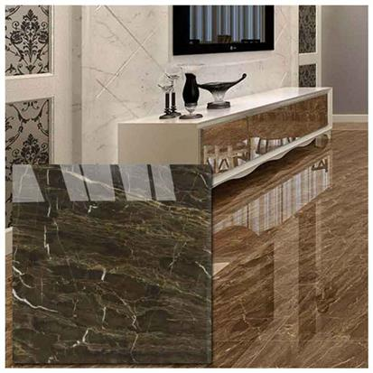 Brown Polished Ceramic Floor Tile 600 x 600mm HYH6221GN