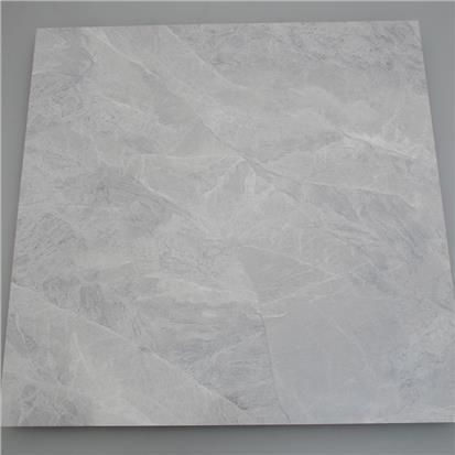 Light Grey Polished Ceramic Floor Tile 1000 x 2000mm HR8336