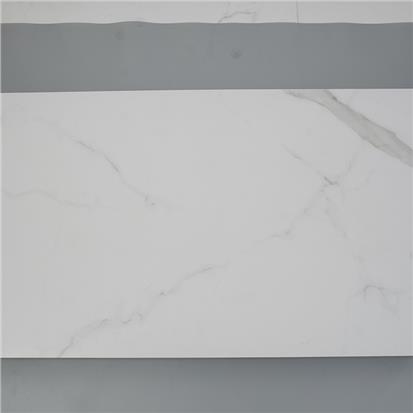 White Polished Marble Look Floor Tile 600 x 1200mm HW126611