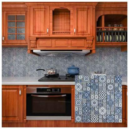 Blue Ceramic Mosaic Tile 300 x 300mm LMX030