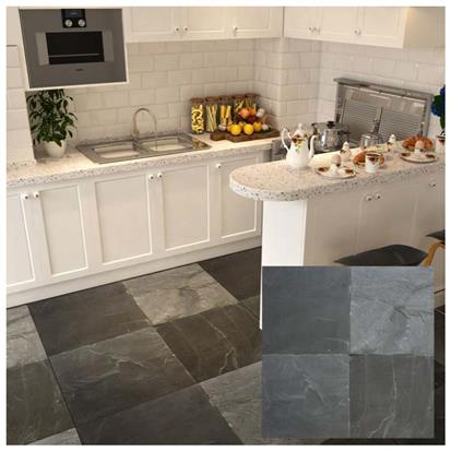 Dark Grey Matte R10 Floor Tile 300 x 300mm P04