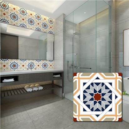 Coloured Glazed Ceramic Wall Tile 200 x 200mm T2463