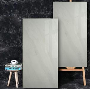Grey Glazed Ceramic Tile Customized Size HB12023B