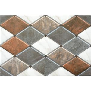Brown Glazed Ceramic Tile Customized Size A842